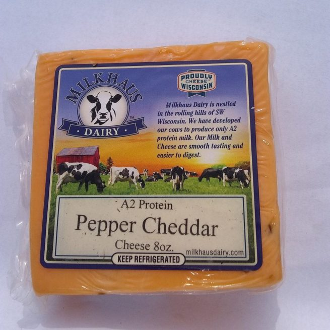 Milkhaus Dairy Peper Cheddar Cheese